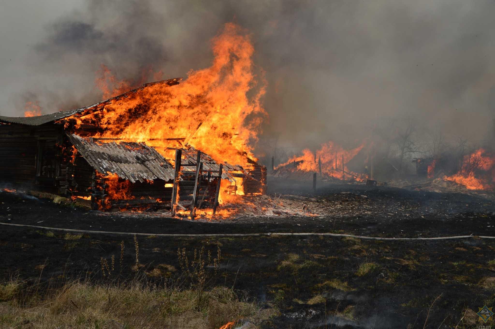 проходят через пожар в селе деревне фото смертельное дтп