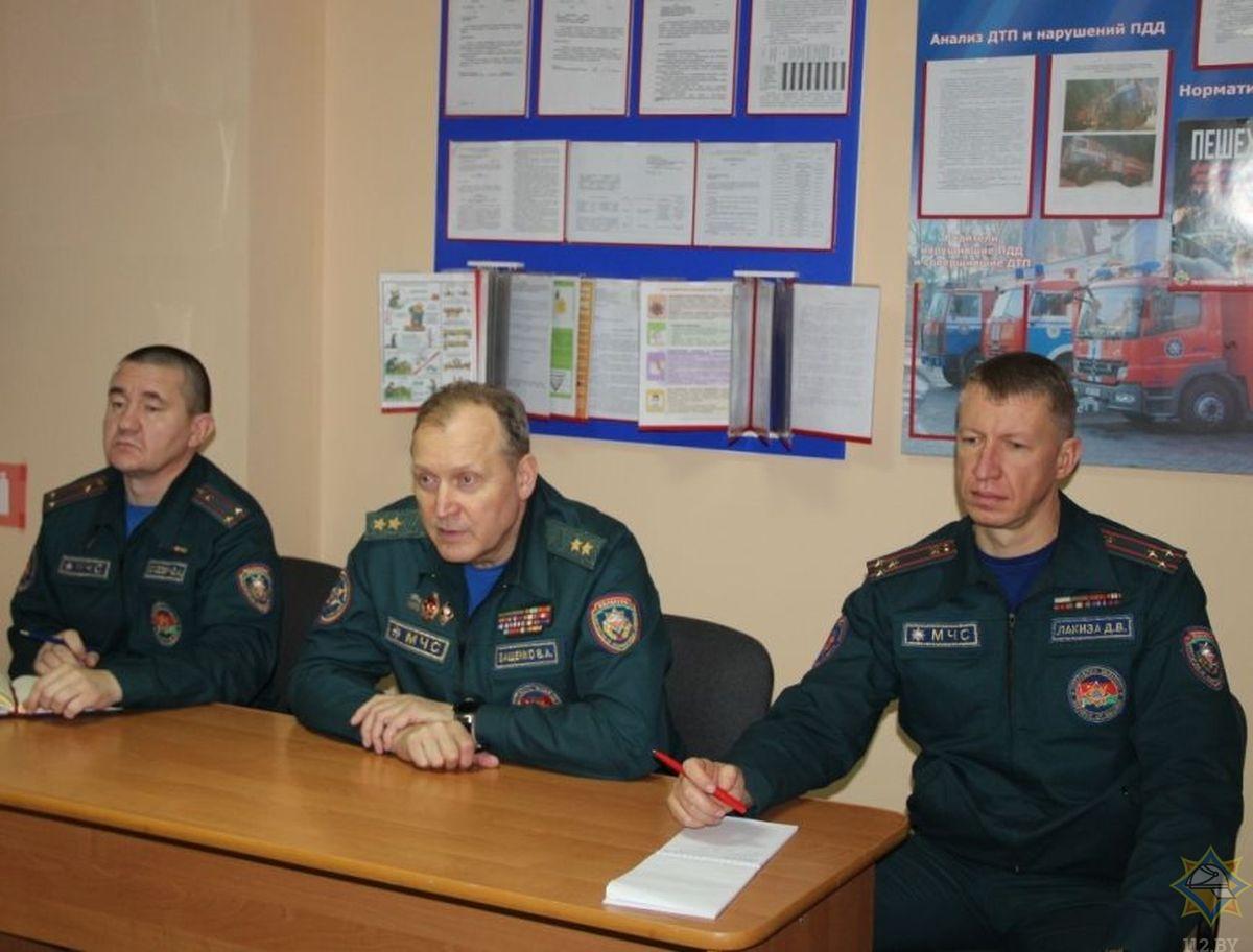 Министр по чрезвычайным ситуациям Владимир Ващенко c рабочим визитом посетил Вороновский район